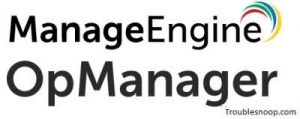 How to Fix and Configure Opmanager Tool