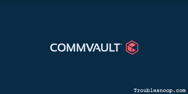 Commvault backup recovery