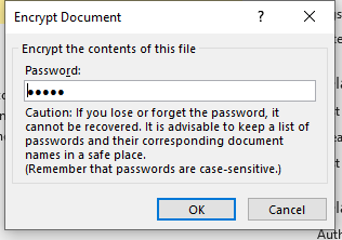 How to Password Protect Excel File