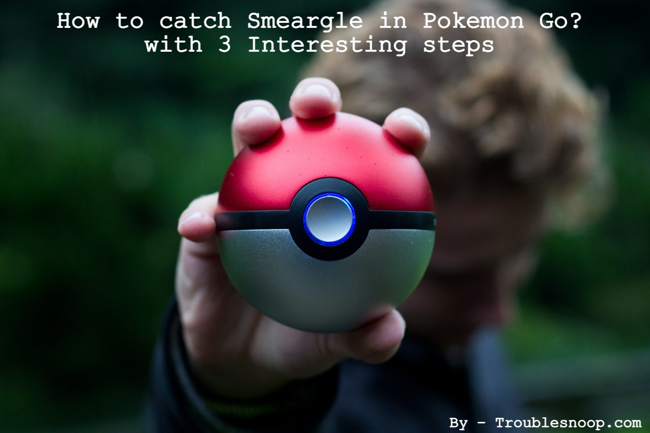 How to catch Smeargle in Pokemon Go? with 3 Interesting steps
