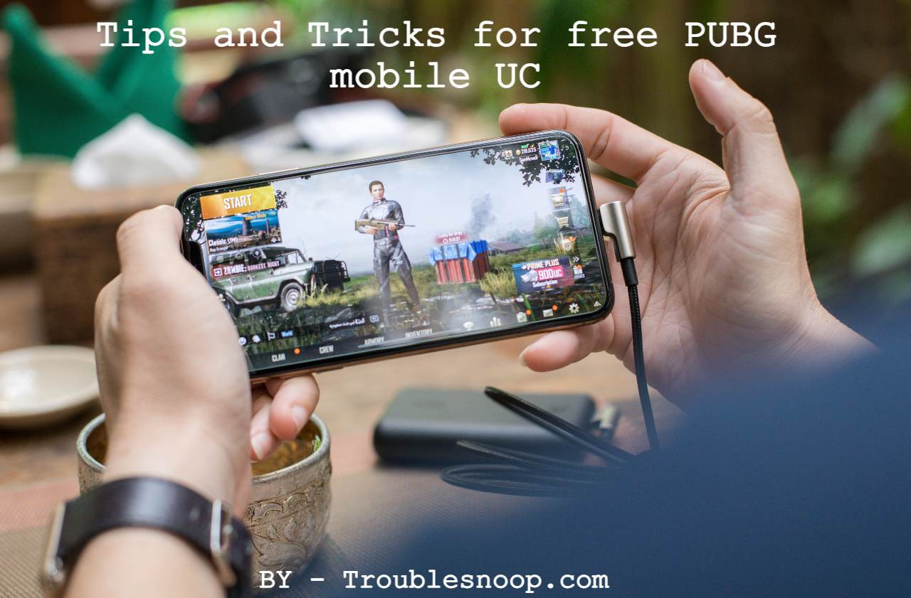 Tips and Tricks for free PUBG mobile UC