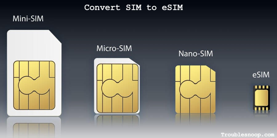 How to convert SIM to eSIM