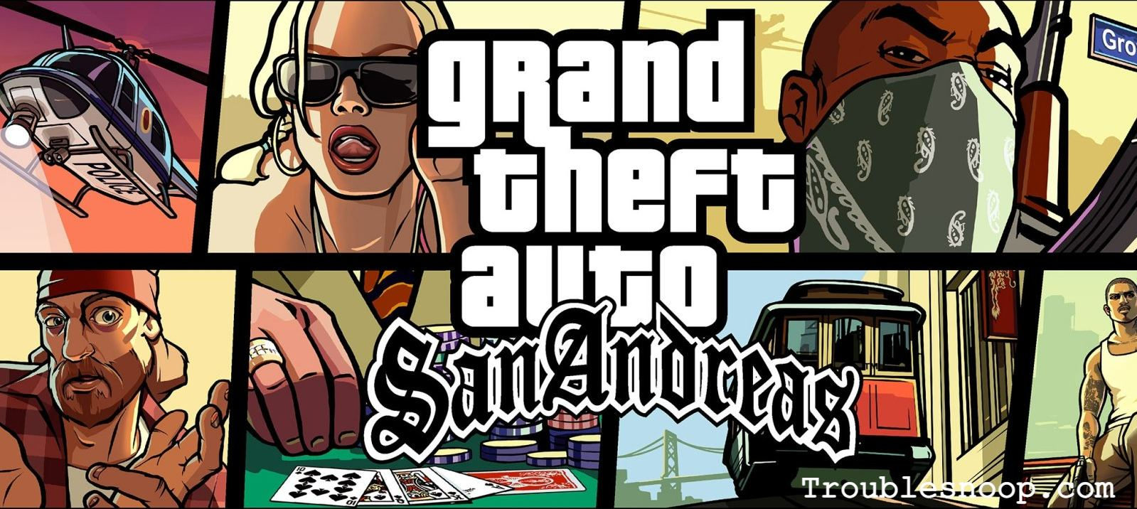 How to pick up items in GTA San Andreas