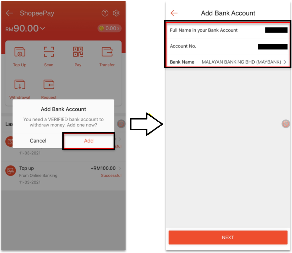 How to Withdraw Money from Shopeepay